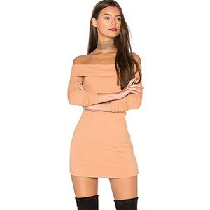 PRIVACY PLEASE Silas Dress Blush Nude